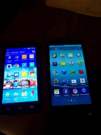 two black and one white android smartphones Calgary, T2A 5L2