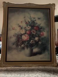 Beautiful Framed Antique Print by French Artist Pierre Sorel. Surrey, V3S 0T1
