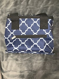 Navy Printed Lunch Bag Orillia, L3V