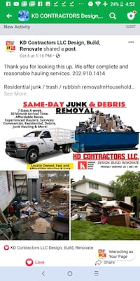 Junk Removal District Heights