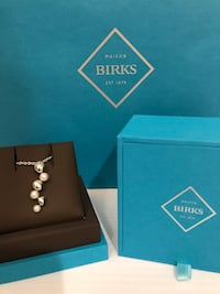Brand new with box Birks Pebble and Sterling Silver Necklace Toronto, M2J 1Z1