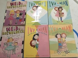 Ivy and bean and heidi heckelbeck books