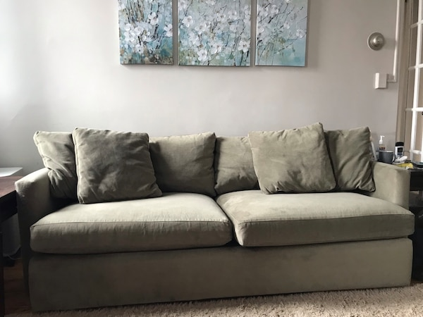 "Can deliver - Crate and Barrel Lounge II 93"" Sofa"