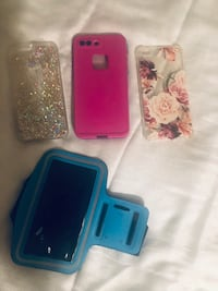 Three assorted color smartphone cases Louisville, 40215