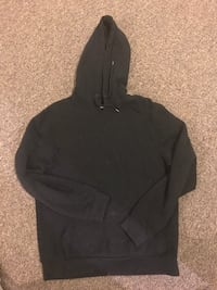 Black pullover hoodie, size small woman or medium youth
