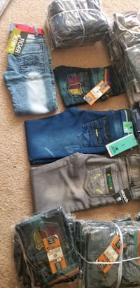 Boys pants new 2 to 12 yrs old.