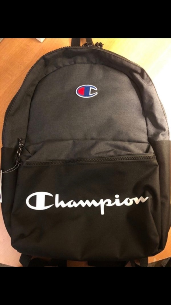 cff32fff6236 Used Black and grey champion backpack for sale in San Jose - letgo