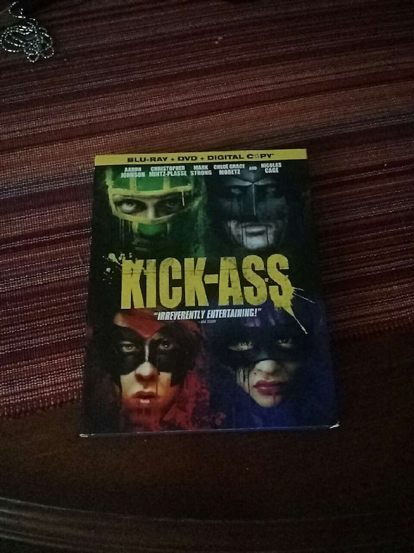 Used Kick Ass Blue Ray Dvd Combo For Sale In Castro