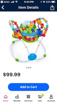 Baby activitiy bouncer Lorton, 22079