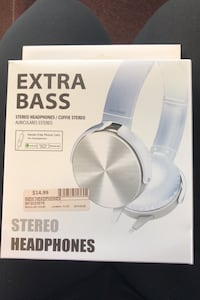 Extra Bass Stereo Headphones @ BUY & SELL KINGS (AJAX) Ajax, L1S 7K8