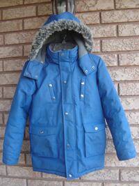 BOY'S SIZE 12 OSHKOSH WINTER JACKET WITH HOODIE QUICK SALE ONLY $60.00 FIRM! Mississauga