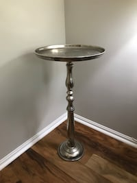 Pair of matching silver end tables 40 obo Arlington, 22209