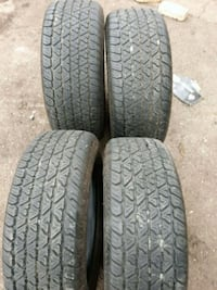 set 4 new tires 215-65-15 mounted Canton