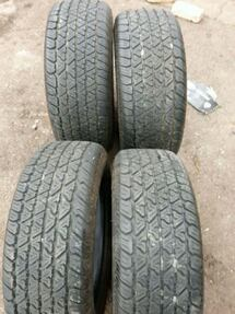 set 4 new tires 215-65-15 mounted