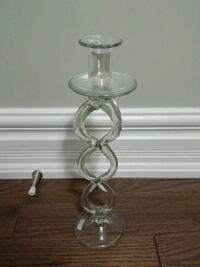 glass candle holder.