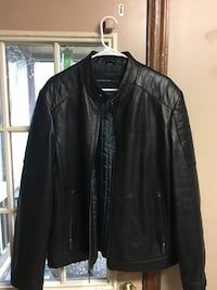 Andrew Marc black leather jacket Knoxville, 37918