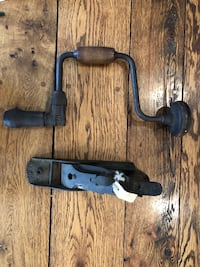 Antique Vintage Hand Tool -Hand Drill