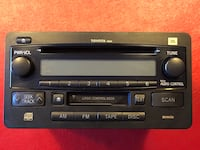 Toyota OEM RADIO DECK CD AND TAPE Oxnard, 93036