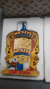 Donald Duck picture frame. Musical notes / theme Brand new. Burnaby, V5H 1Z9