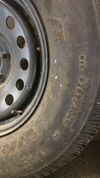 New spare tire off 2008 Cadillac Escalade. Price is firm. Mapleton, 84664