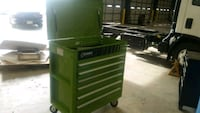 green and black tool cabinet Florence, 39073