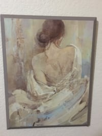 Painting of a woman Las Vegas, 89123