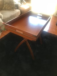 Butler folding table with tray!  Pickering