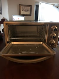 Sunbeam toaster oven.