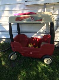 red and black Little Tikes pull wagon Belleville, K8N 3K9