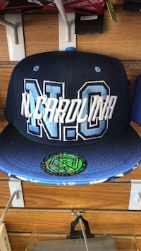 black and blue New York Yankees fitted cap Fort Wayne, 46806