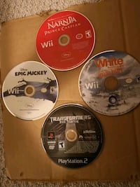 Wii games and PS2 games Brampton, L7A