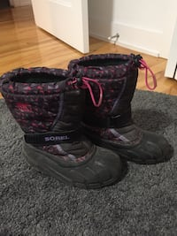 Warm Sorel winter boots for kids Montréal, H3M 1M4