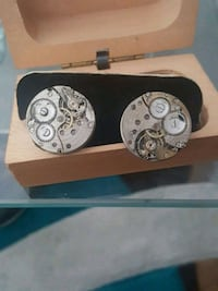 Cufflinks made from old watch parts Surrey, V3S 3V9