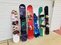 Snowboard - Great Condition - Bindings Hinsdale
