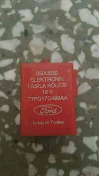 Ford transit role Istanbul