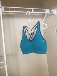 women's blue tank top Regina