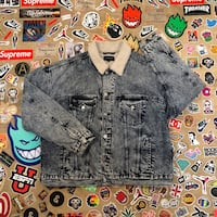 gray denim button-up jacket Montgomery Village, 20886