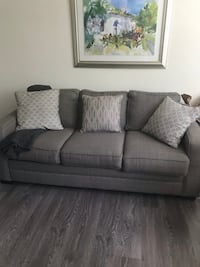 gray fabric 3-seat sofa Upper Marlboro, 20772