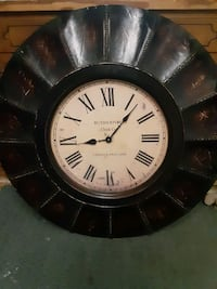 Rutherfordton wall clock London england