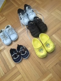 toddler's assorted shoes Toronto, M3N 1A7
