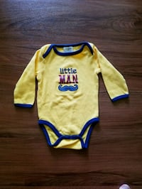 "Baby Gear ""Little Man"" onesie"