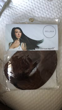 bellami  faux wrap ponytail chocolate brown new never used Marydel, 19964