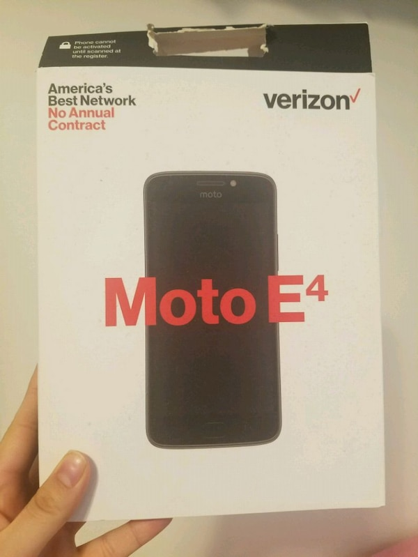 New Motorola E4 (Verizon)