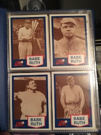 Babe Ruth Trading Card Set
