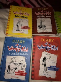 Diary of a Wimpy Kid books set of 7  Cabin fever gone  Woodland, 95776