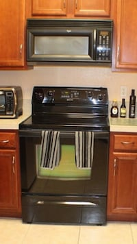 Whirlpool Microwave and oven
