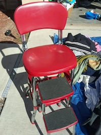 red and black rolling armchair Albuquerque, 87121