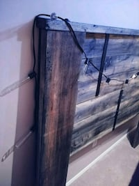 Rustic handcrafted Queen bed frame Calgary, T2V 3X4