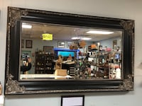 Large Vintage Silver and Black Mirror Martinsburg, 25404
