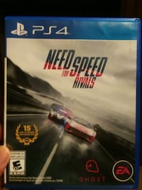 Sony PS4 Need for Speed Rivals case 1197 mi